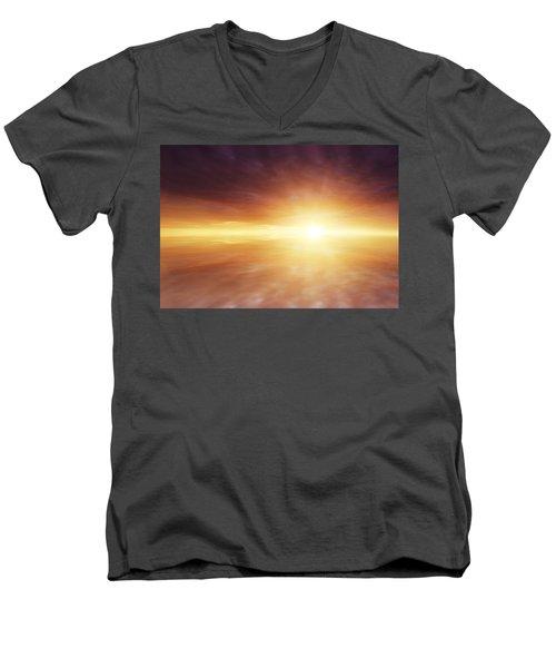 Heaven Men's V-Neck T-Shirt