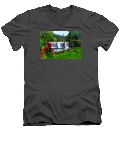Heaven In The Woods Men's V-Neck T-Shirt