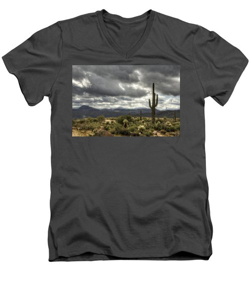 Heavenly Desert Skies  Men's V-Neck T-Shirt