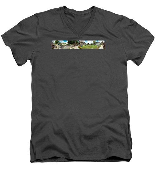 Heidelberg Panorama Men's V-Neck T-Shirt