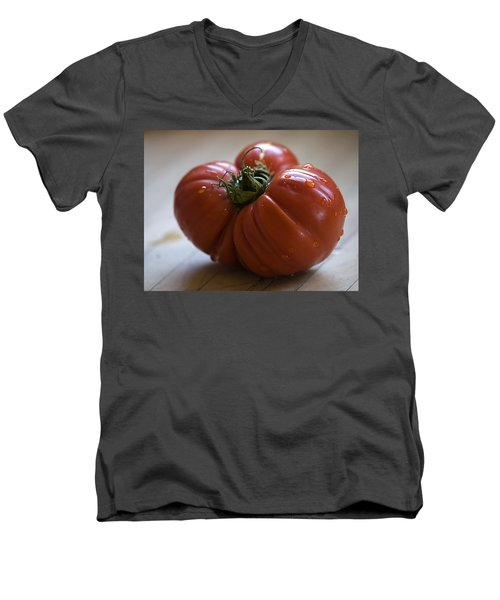 Men's V-Neck T-Shirt featuring the photograph Heirloomage by Joe Schofield