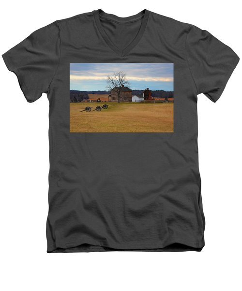 Henry House At Manassas Va Men's V-Neck T-Shirt