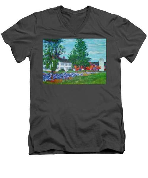 Henry Warren House And Barn Men's V-Neck T-Shirt