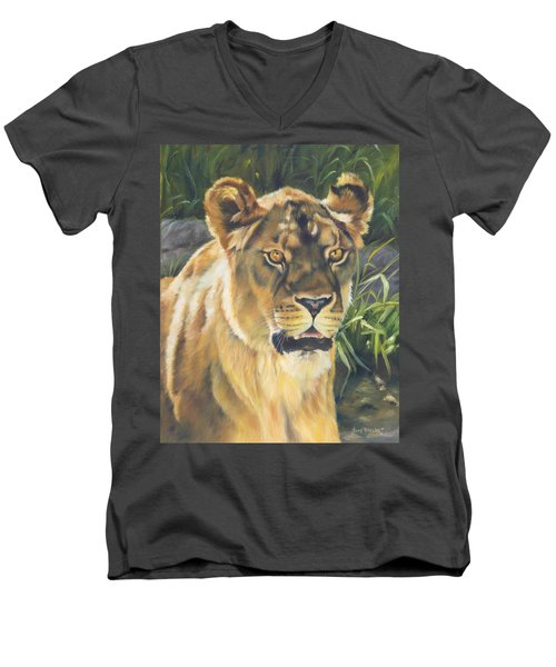 Her - Lioness Men's V-Neck T-Shirt