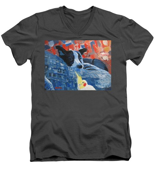 Heres Looking At You Pal Men's V-Neck T-Shirt