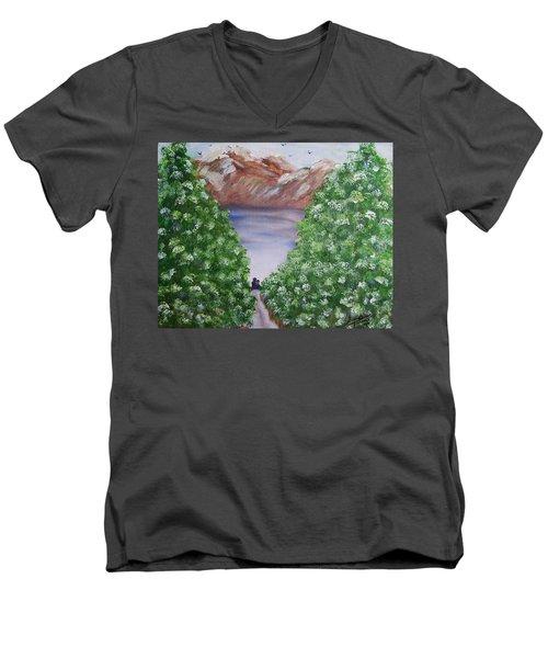 Hidden Escape Men's V-Neck T-Shirt