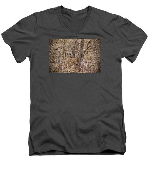 Hiding Out Men's V-Neck T-Shirt