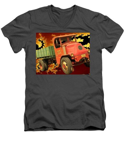 High Flying Mack Men's V-Neck T-Shirt