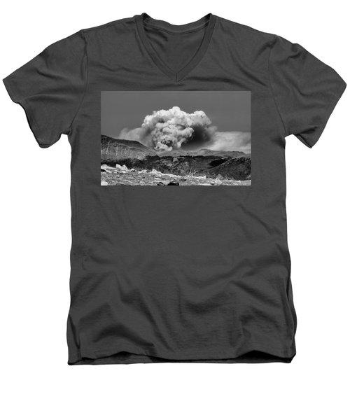 High Park Fire Men's V-Neck T-Shirt