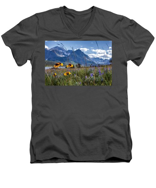 High Plains Men's V-Neck T-Shirt