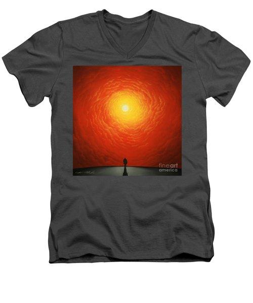 His Final Destiny Men's V-Neck T-Shirt