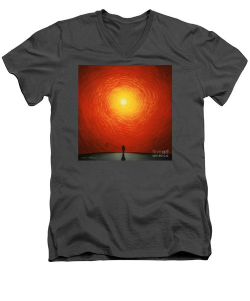His Final Destiny Men's V-Neck T-Shirt