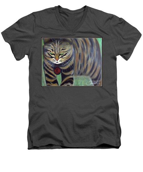 His Lordship Monty Men's V-Neck T-Shirt