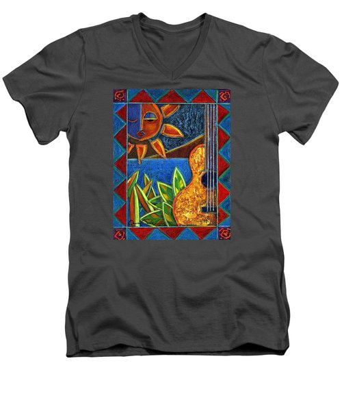 Hispanic Heritage Men's V-Neck T-Shirt