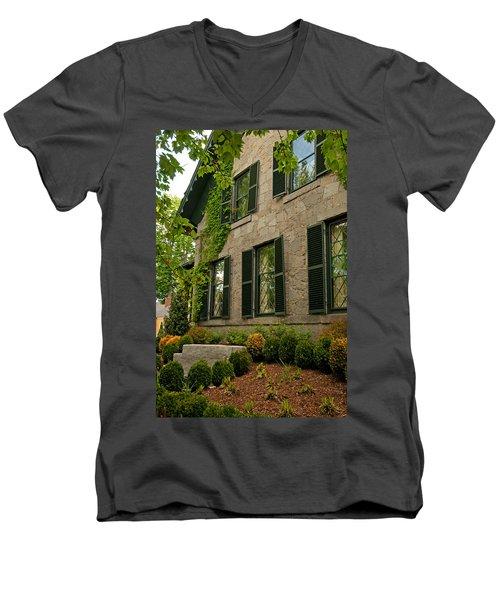 Historic Concord Home Men's V-Neck T-Shirt
