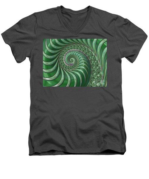 Hj Pg Men's V-Neck T-Shirt