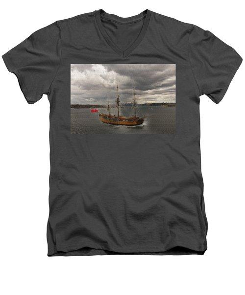 Hmb Endevour Men's V-Neck T-Shirt
