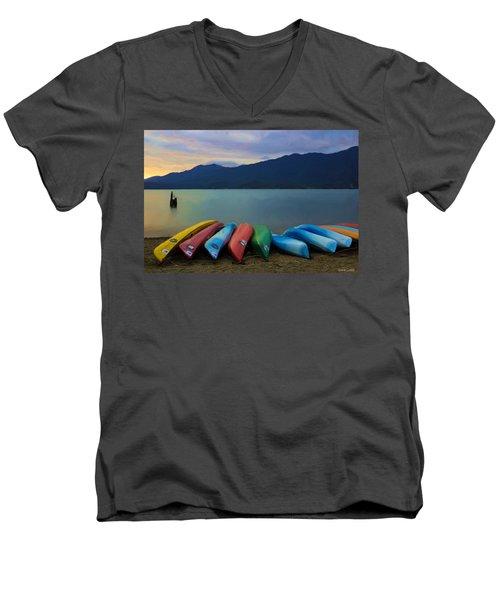 Holding On To Summer Men's V-Neck T-Shirt