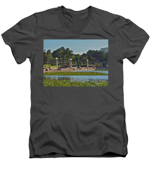 Hollis Gardens II Men's V-Neck T-Shirt