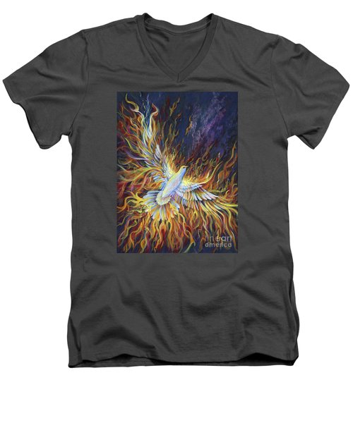 Holy Fire Men's V-Neck T-Shirt