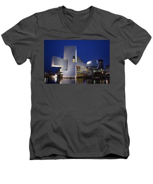 Home Of Rock 'n Roll Men's V-Neck T-Shirt