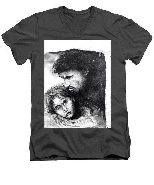 Homeless  Men's V-Neck T-Shirt