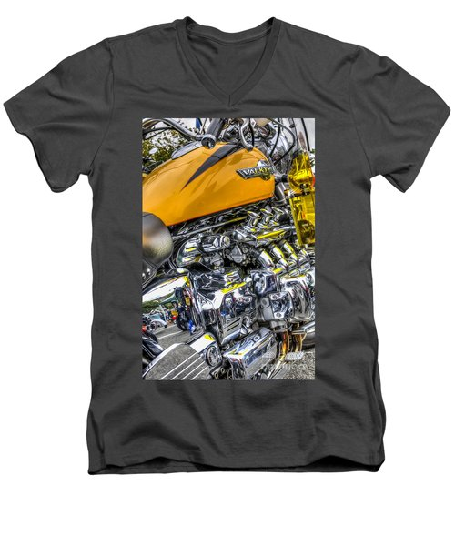 Honda Valkyrie 3 Men's V-Neck T-Shirt