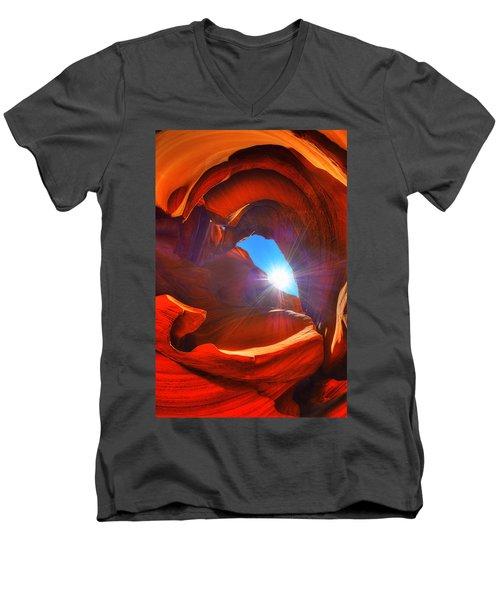 Hope Men's V-Neck T-Shirt by Midori Chan