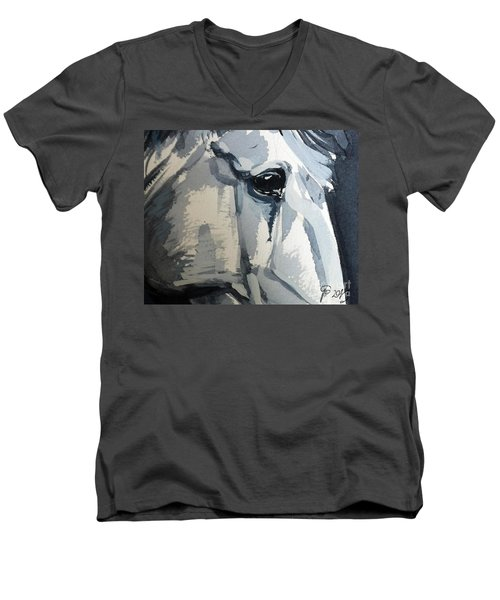 Horse Look Closer Men's V-Neck T-Shirt