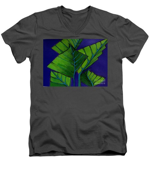 Hosta Blue Tip Two Men's V-Neck T-Shirt