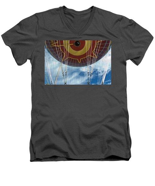 Hot Air Baloon Men's V-Neck T-Shirt