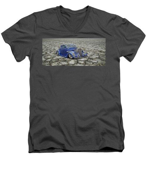 Hot Rod Mirage Men's V-Neck T-Shirt by Steve McKinzie