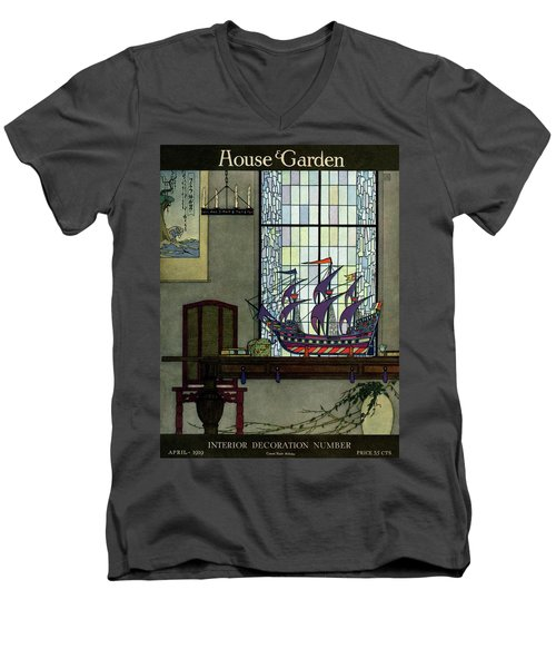 House And Garden Men's V-Neck T-Shirt
