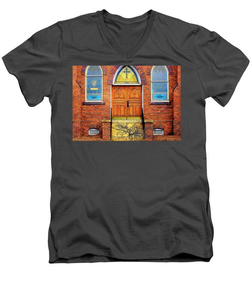 House Of God Men's V-Neck T-Shirt