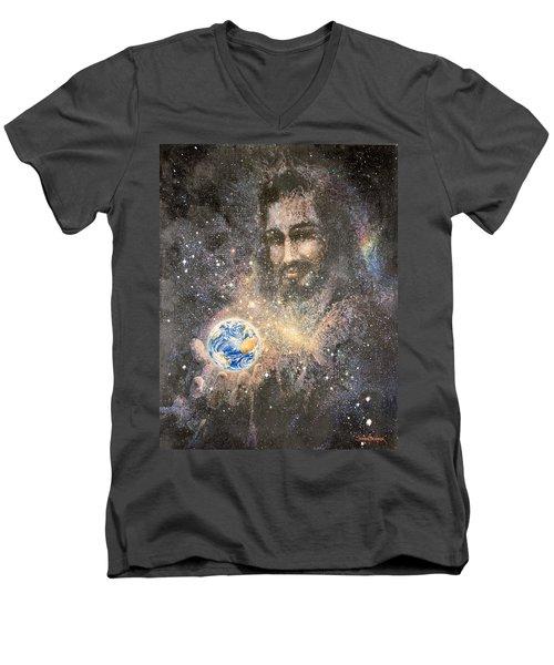 How Big Is Your Problem Men's V-Neck T-Shirt