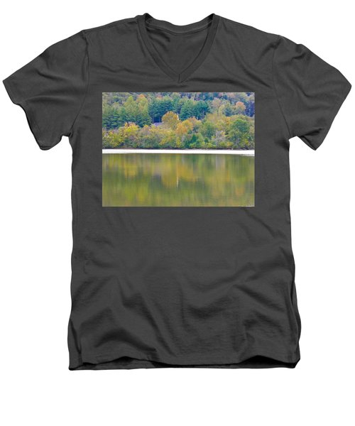 Men's V-Neck T-Shirt featuring the photograph How Sweet The Sound by Nick Kirby