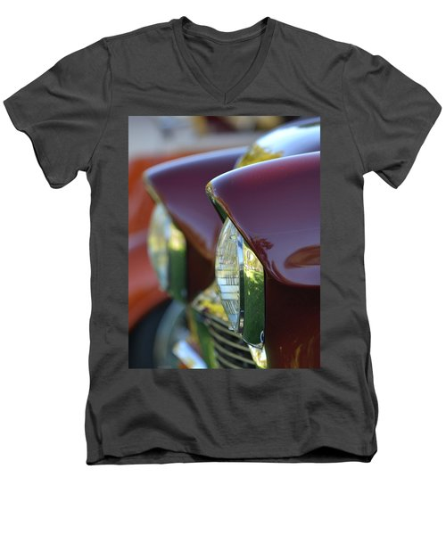 Men's V-Neck T-Shirt featuring the photograph Hr-36 by Dean Ferreira