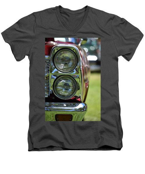 Men's V-Neck T-Shirt featuring the photograph Hr-46 by Dean Ferreira