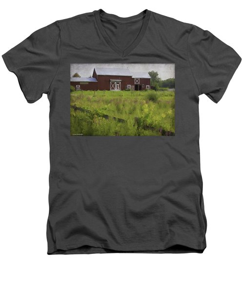 Hudson Valley Barn Men's V-Neck T-Shirt