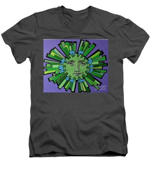 Hugh Grant - Sun Men's V-Neck T-Shirt