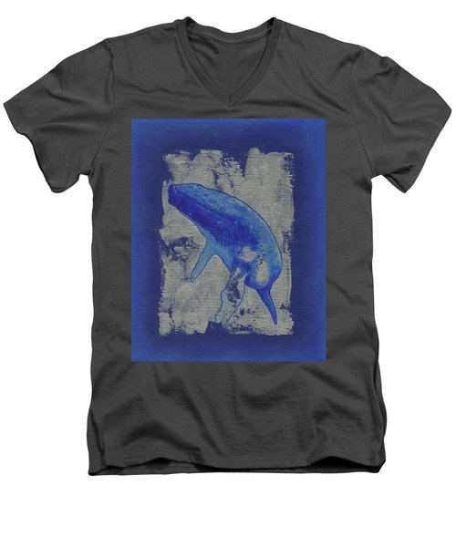 Humpback Whale Song Men's V-Neck T-Shirt