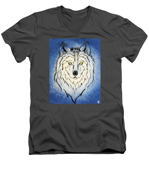 Hungry Like The Wolf Men's V-Neck T-Shirt