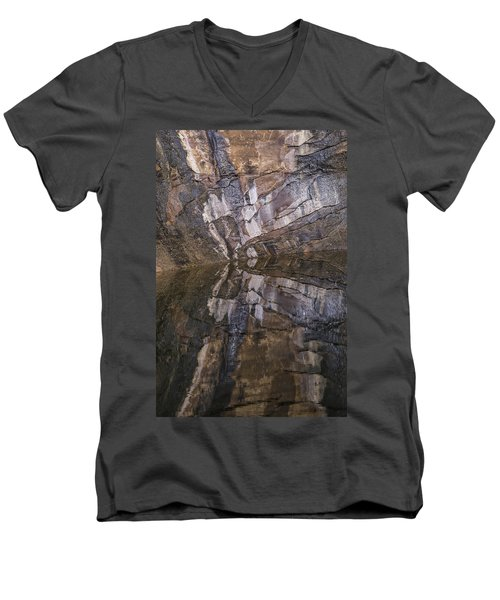 Hunter Canyon Seep Men's V-Neck T-Shirt