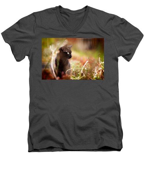 Hunter Men's V-Neck T-Shirt