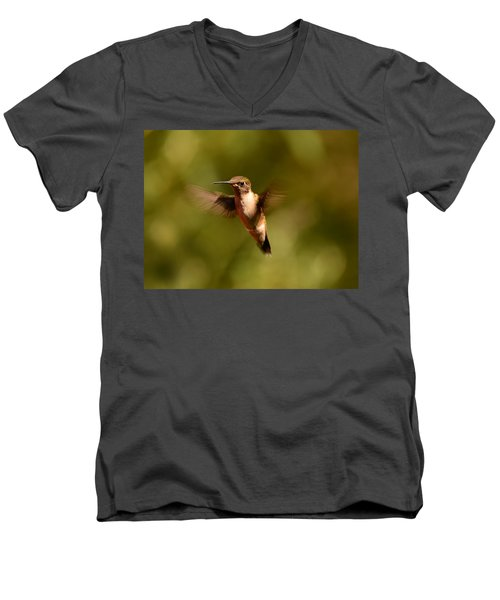 Hurry Up And Take My Picture Men's V-Neck T-Shirt