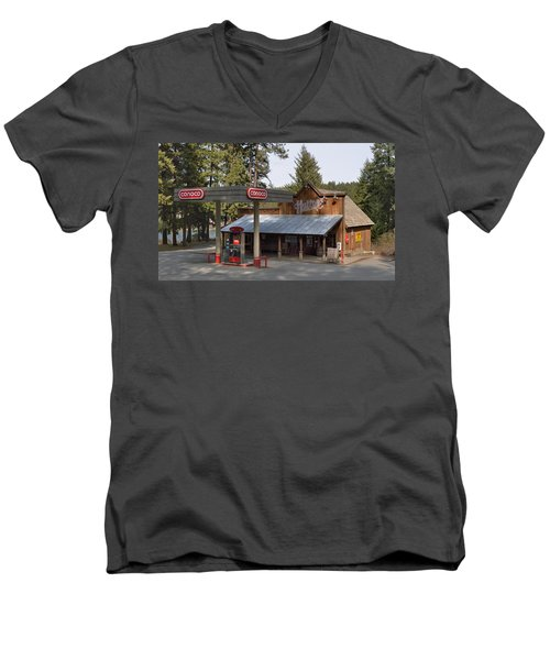 Huttons General Store Men's V-Neck T-Shirt