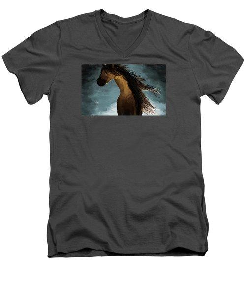 Hypnotized Men's V-Neck T-Shirt by Kate Black