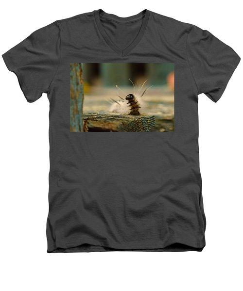I Am A Caterpillar Men's V-Neck T-Shirt