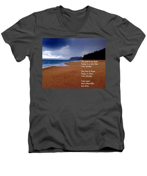 I Am Worthy Men's V-Neck T-Shirt