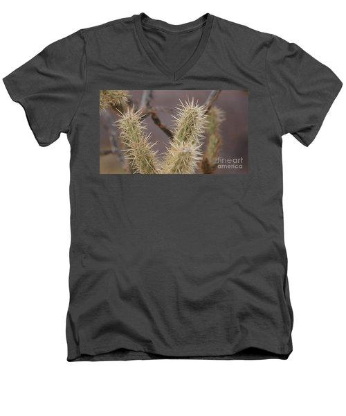 I Bite Men's V-Neck T-Shirt